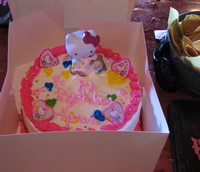 My Hello Kitty Birthday Cake
