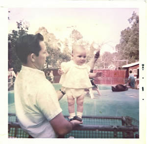 Dad and me May 1965